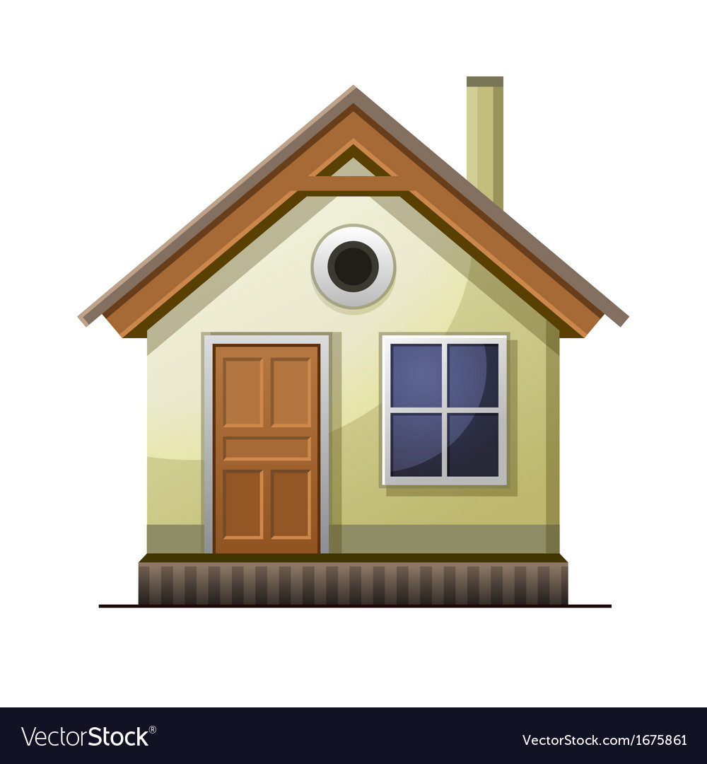 House icon isolated on white background vector | Price: 1 Credit (USD $1)