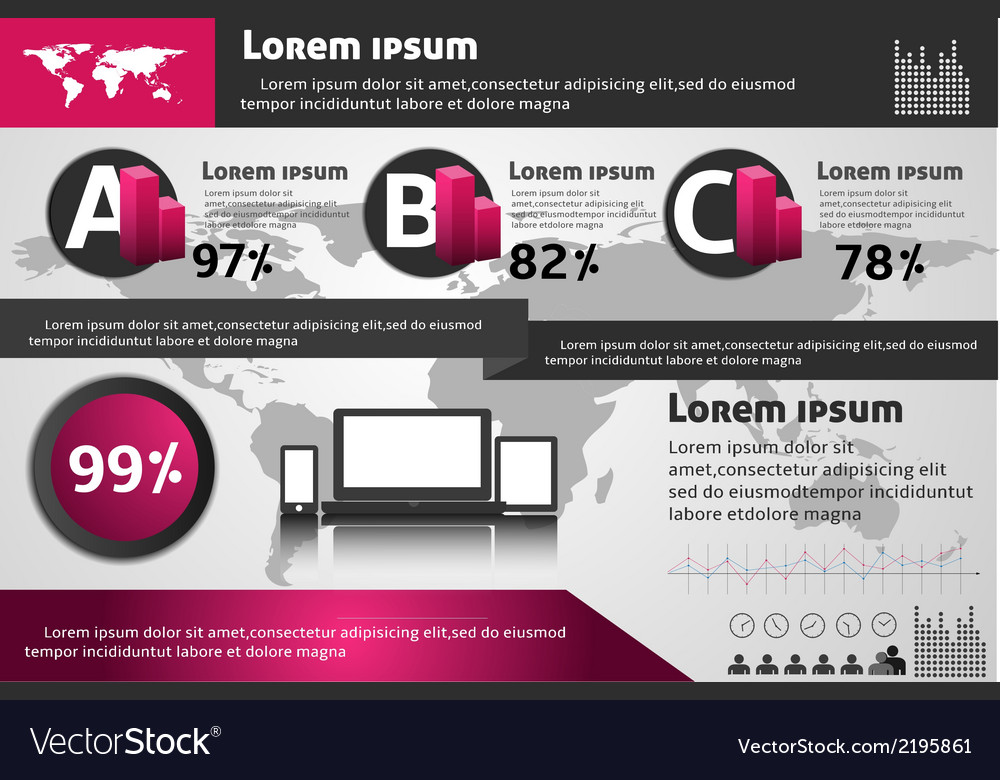 Info graphic 04 vector | Price: 1 Credit (USD $1)