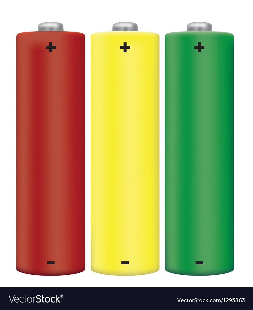 Alkaline batteries vector | Price: 1 Credit (USD $1)