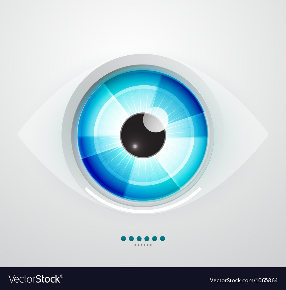 Abstract techno eye vector | Price: 1 Credit (USD $1)