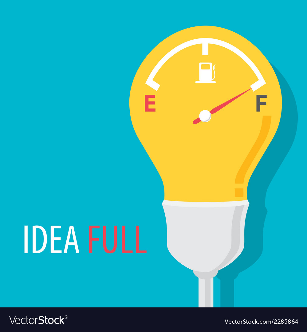 Idea full symbol vector | Price: 1 Credit (USD $1)