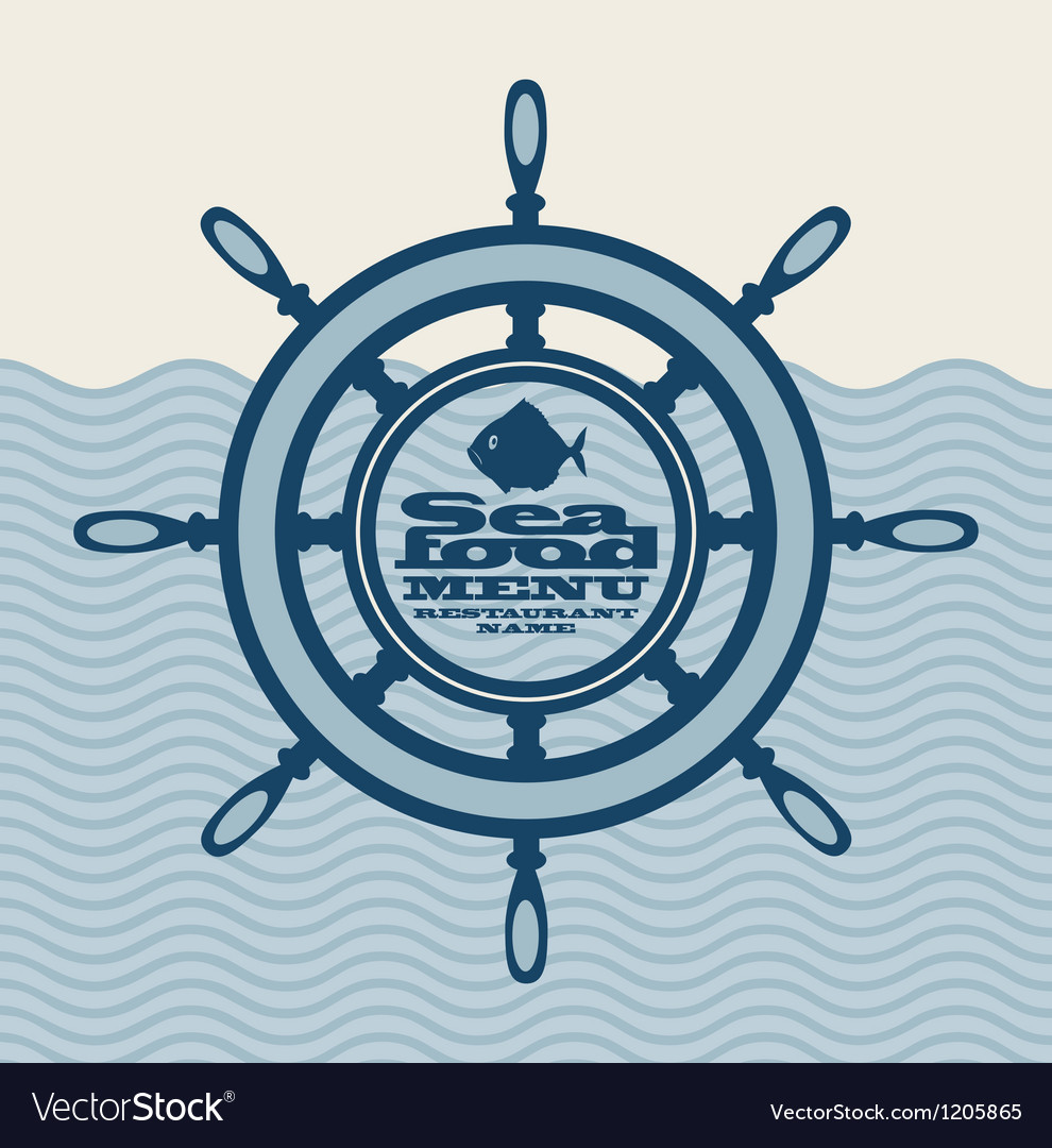 Ship wheel vector | Price: 1 Credit (USD $1)