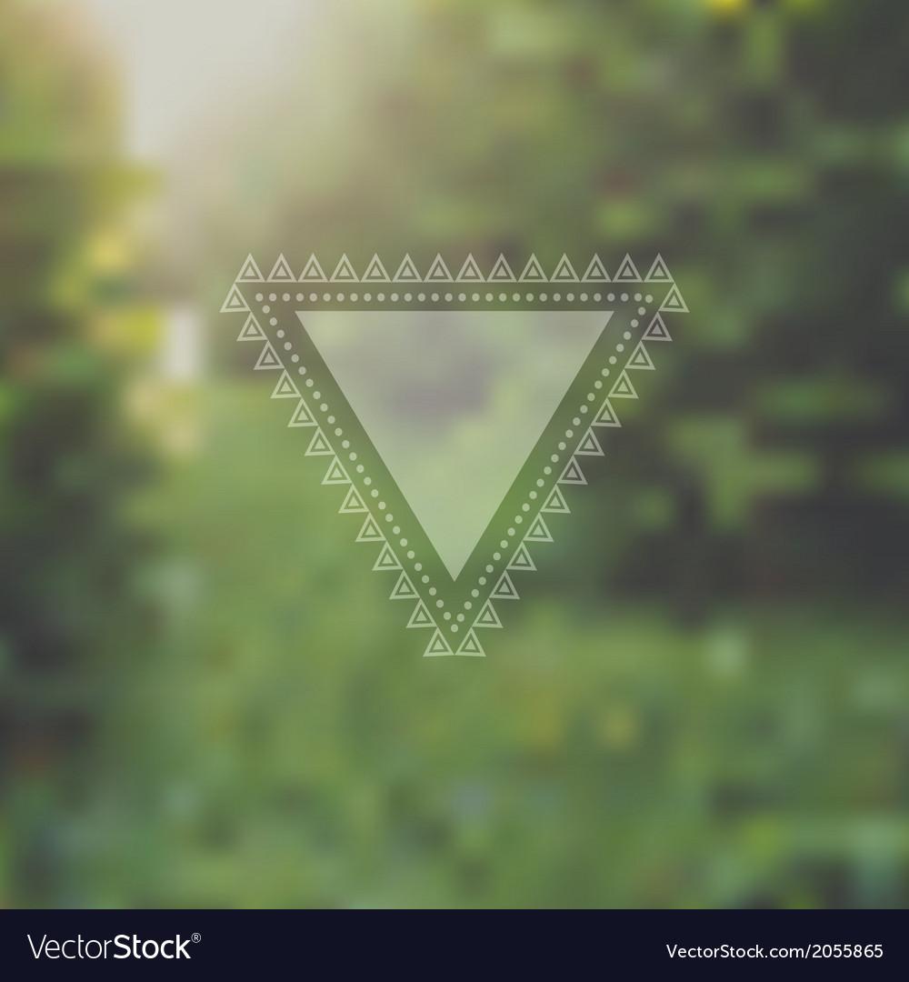 Unfocused summer poster vector | Price: 1 Credit (USD $1)