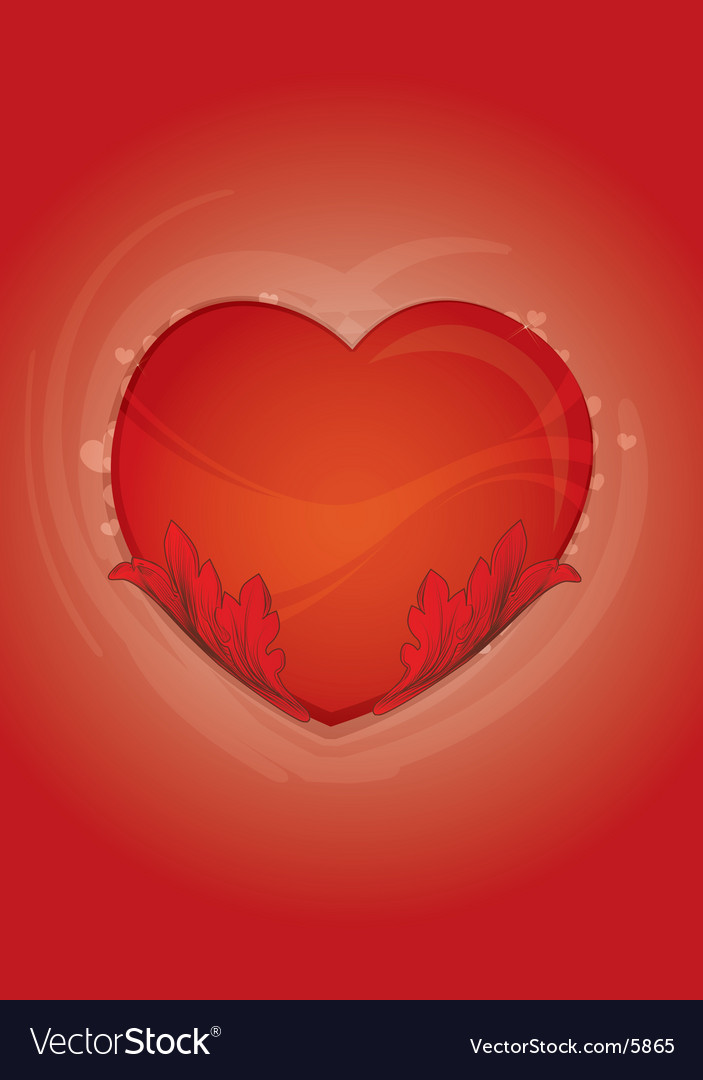 Valentine's heart vector | Price: 1 Credit (USD $1)