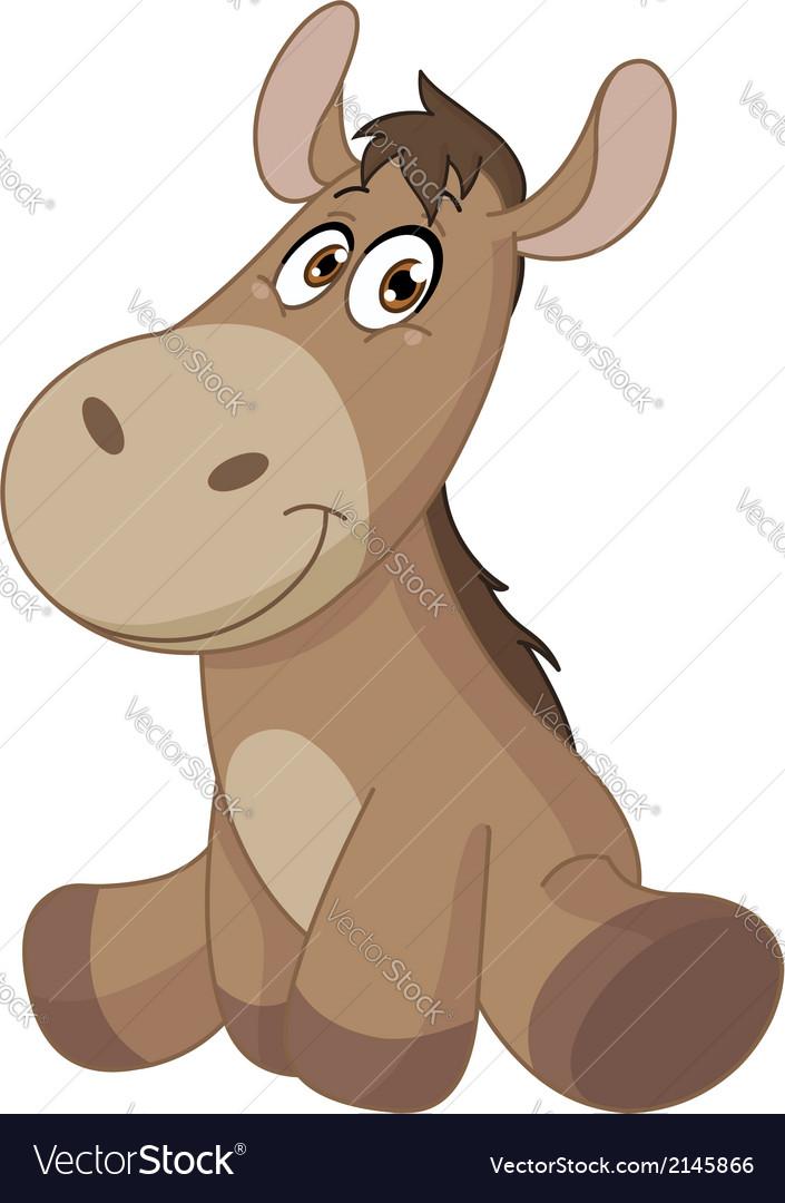 Baby donkey vector   Price: 1 Credit (USD $1)