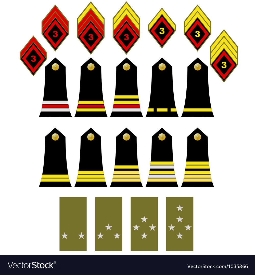 The french army insignia vector | Price: 1 Credit (USD $1)