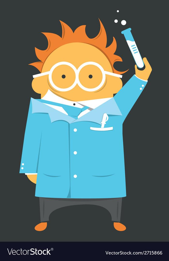 Scientist or teacher vector | Price: 1 Credit (USD $1)