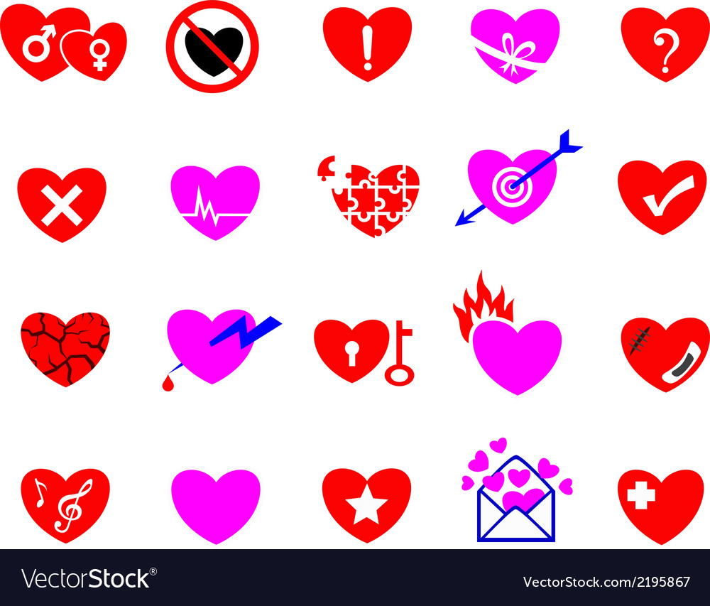 Heart icon concept vector | Price: 1 Credit (USD $1)