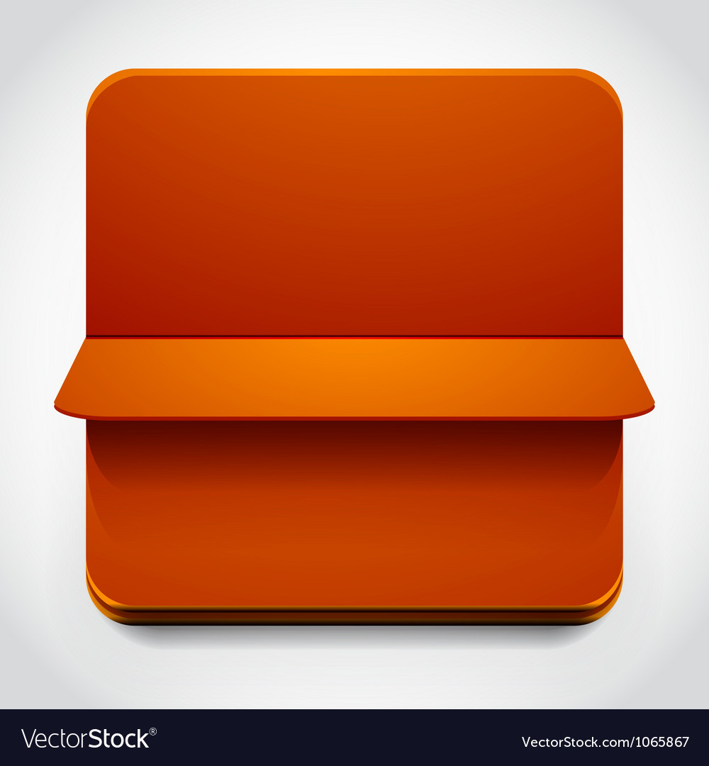 Turning over web box vector | Price: 1 Credit (USD $1)