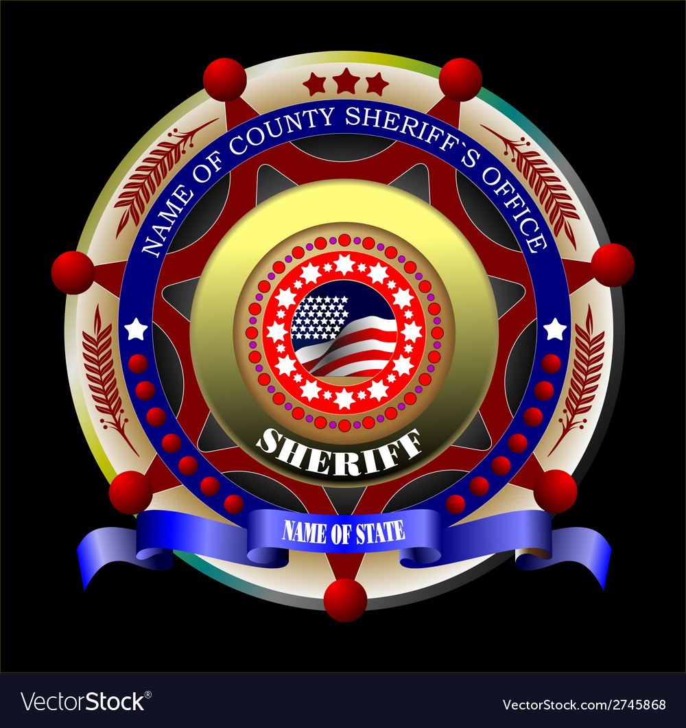 Al 0648 sheriff vector | Price: 1 Credit (USD $1)