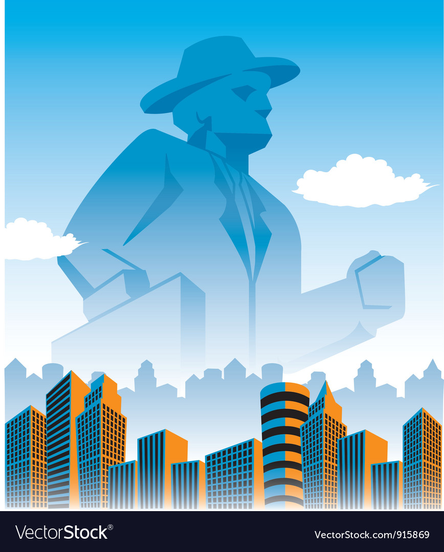 Businessmonolith vector | Price: 1 Credit (USD $1)