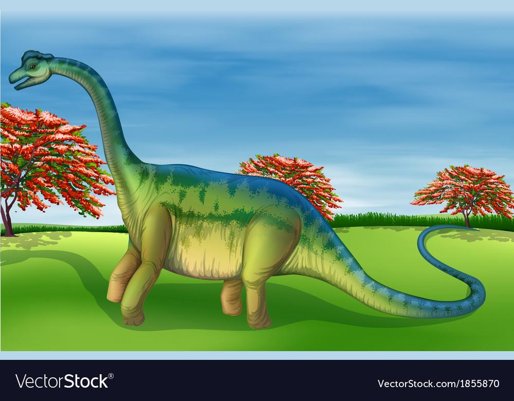 Brachiosaurus vector | Price: 3 Credit (USD $3)