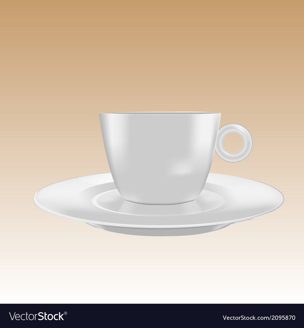 Cup small mockup vector | Price: 1 Credit (USD $1)