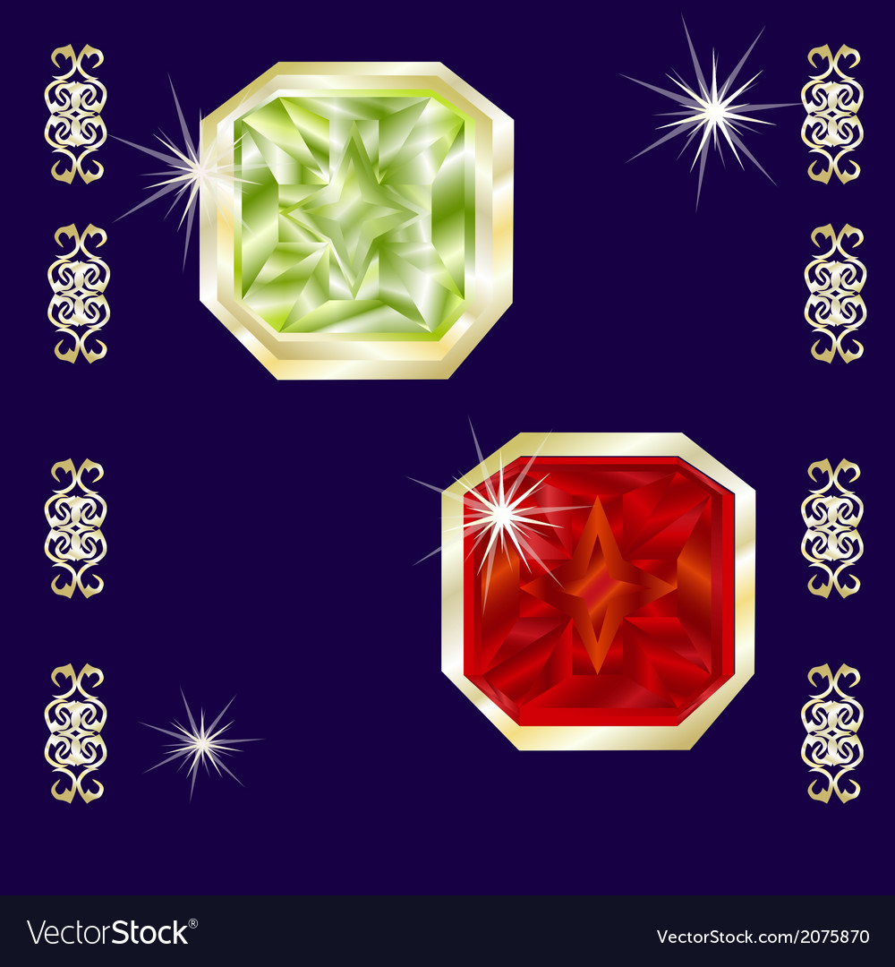 Gems vector | Price: 1 Credit (USD $1)