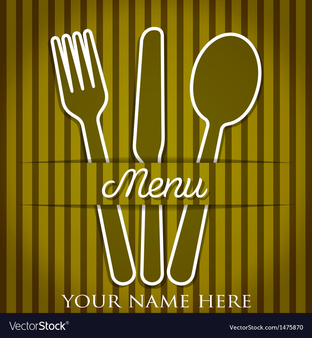 Restaurant menu vector | Price: 1 Credit (USD $1)