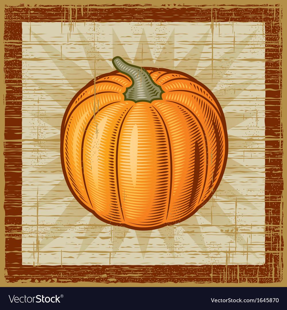 Retro pumpkin vector   Price: 1 Credit (USD $1)