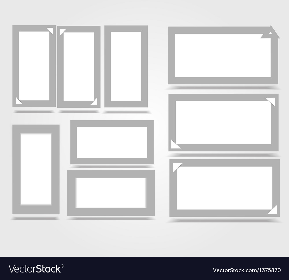 Vertical white frame paper background with drop vector | Price: 1 Credit (USD $1)