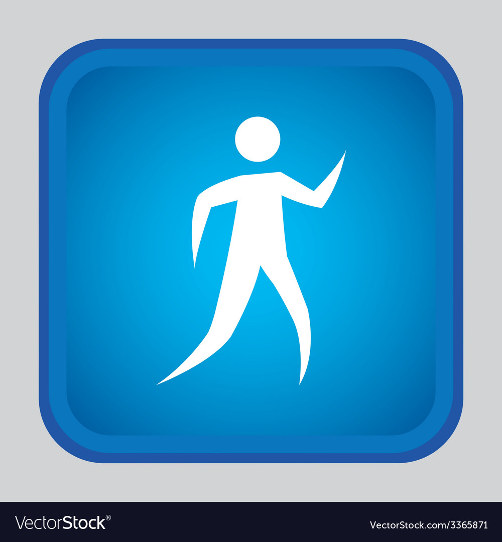 Human silhouette design vector | Price: 1 Credit (USD $1)