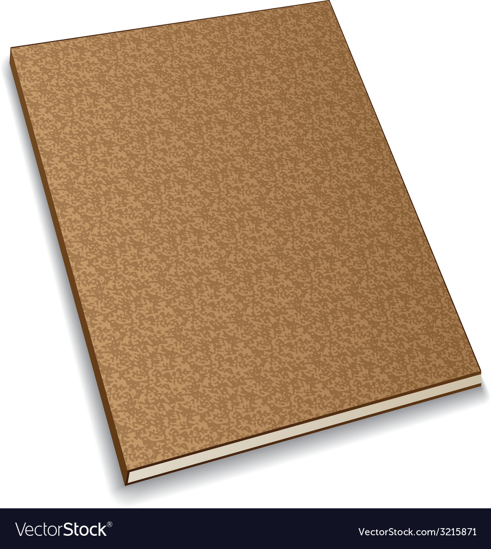 Notebook from recycled paper vector | Price: 1 Credit (USD $1)