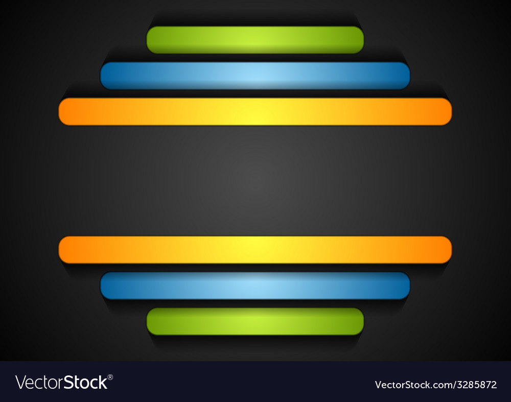 Colorful stripes vector | Price: 1 Credit (USD $1)