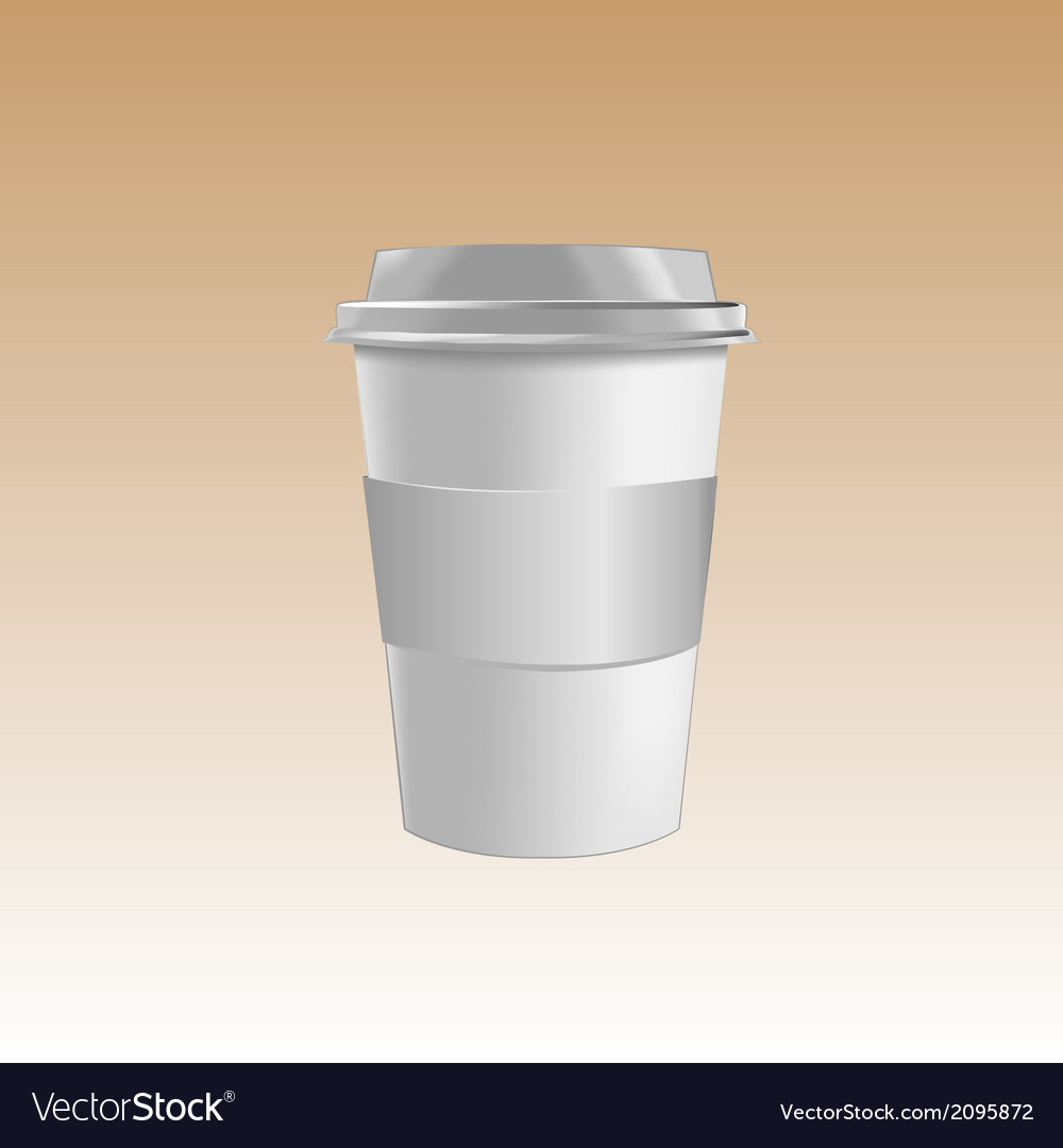 Cup mockup vector | Price: 1 Credit (USD $1)