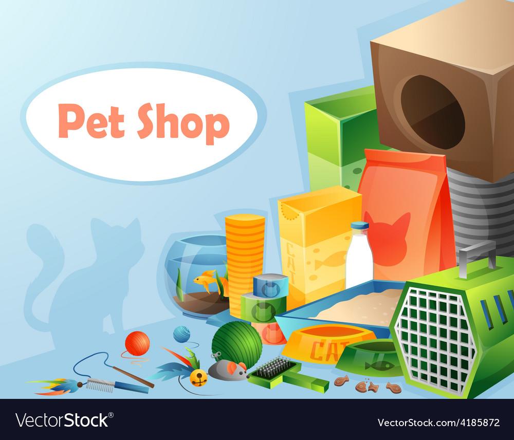 Pet shop concept vector | Price: 1 Credit (USD $1)