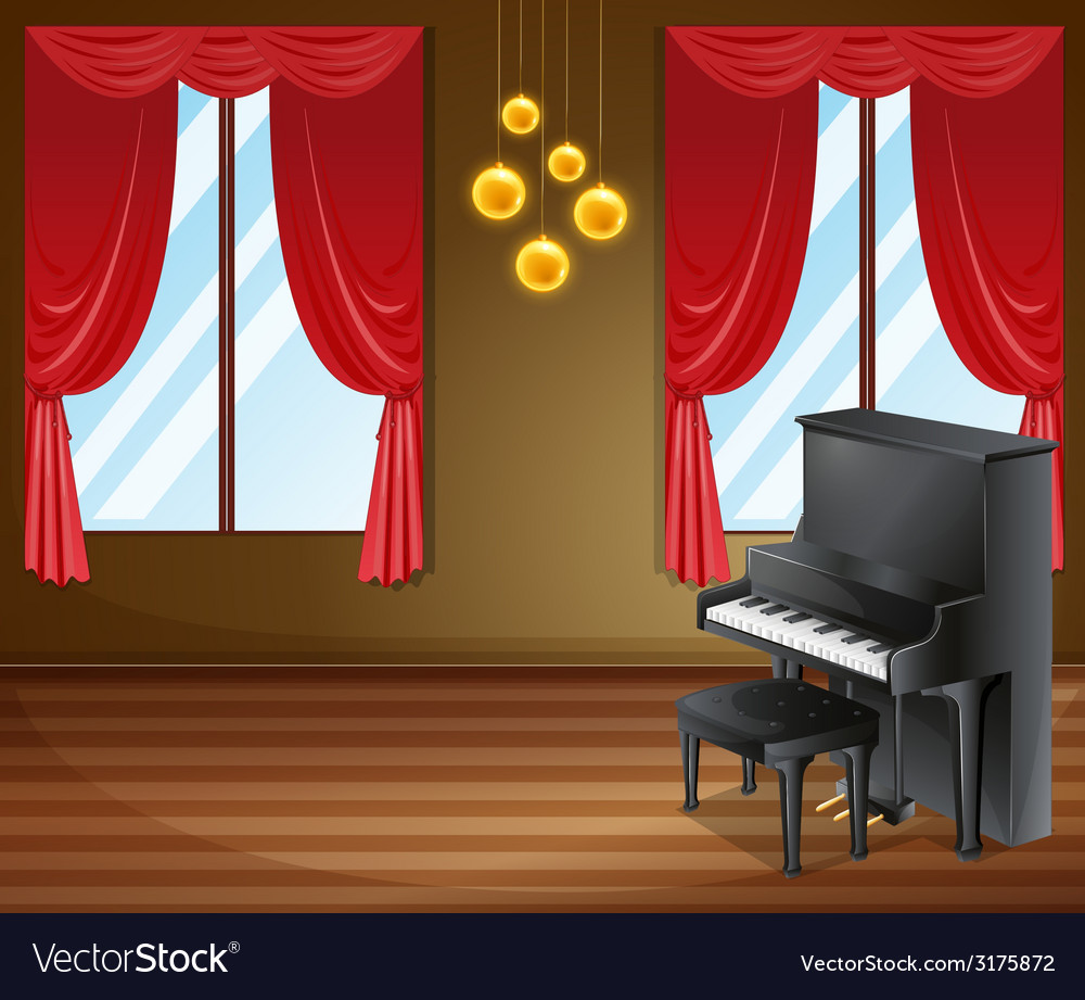 Piano vector | Price: 3 Credit (USD $3)