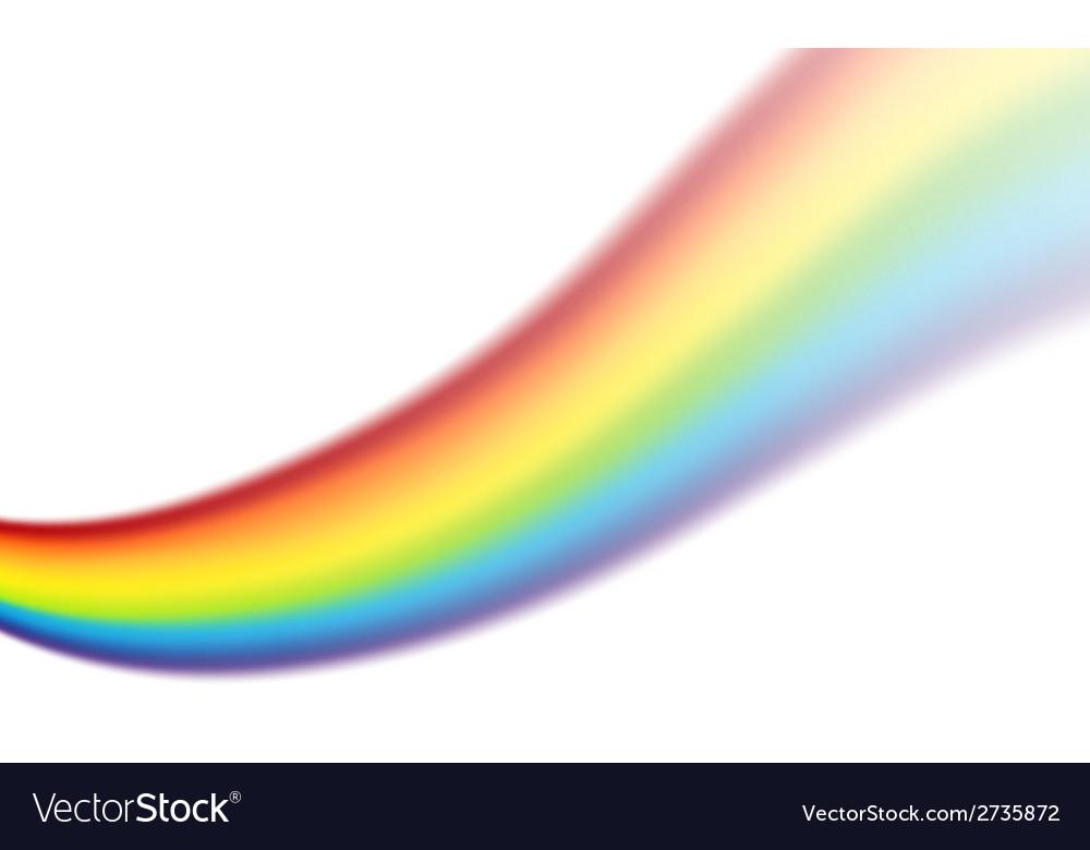 Rainbow swirl vector | Price: 1 Credit (USD $1)