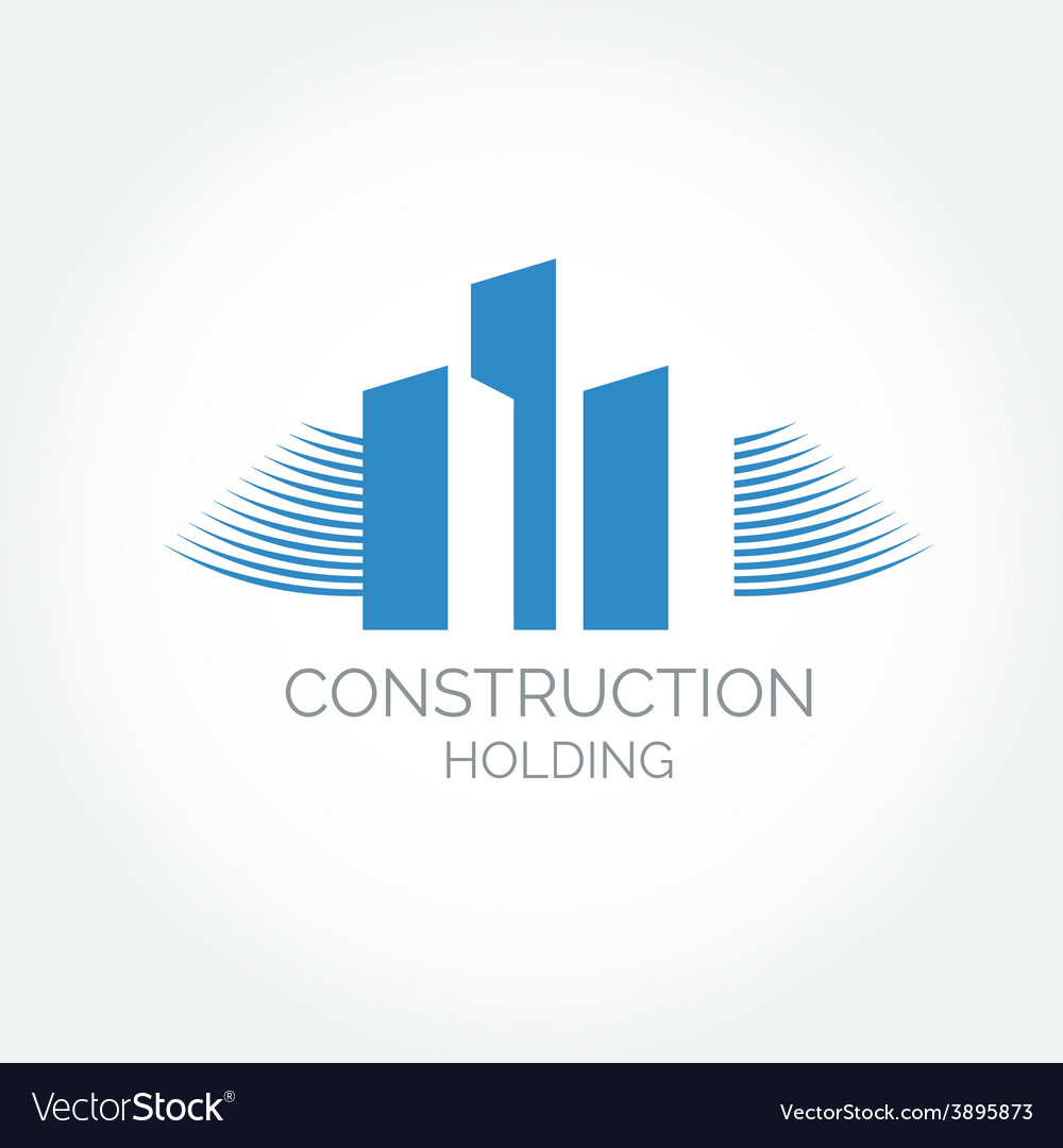 Abstract construction of house easy to change vector | Price: 1 Credit (USD $1)