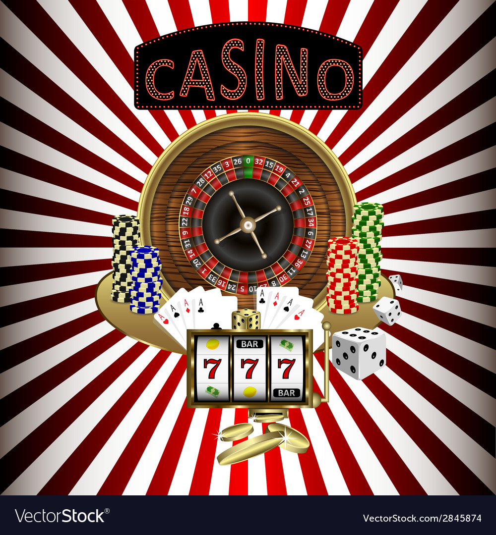 Casino theme vector | Price: 1 Credit (USD $1)