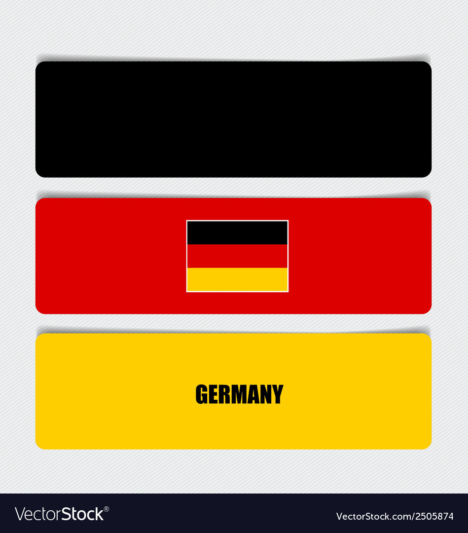Germany flags concept design vector   Price: 1 Credit (USD $1)