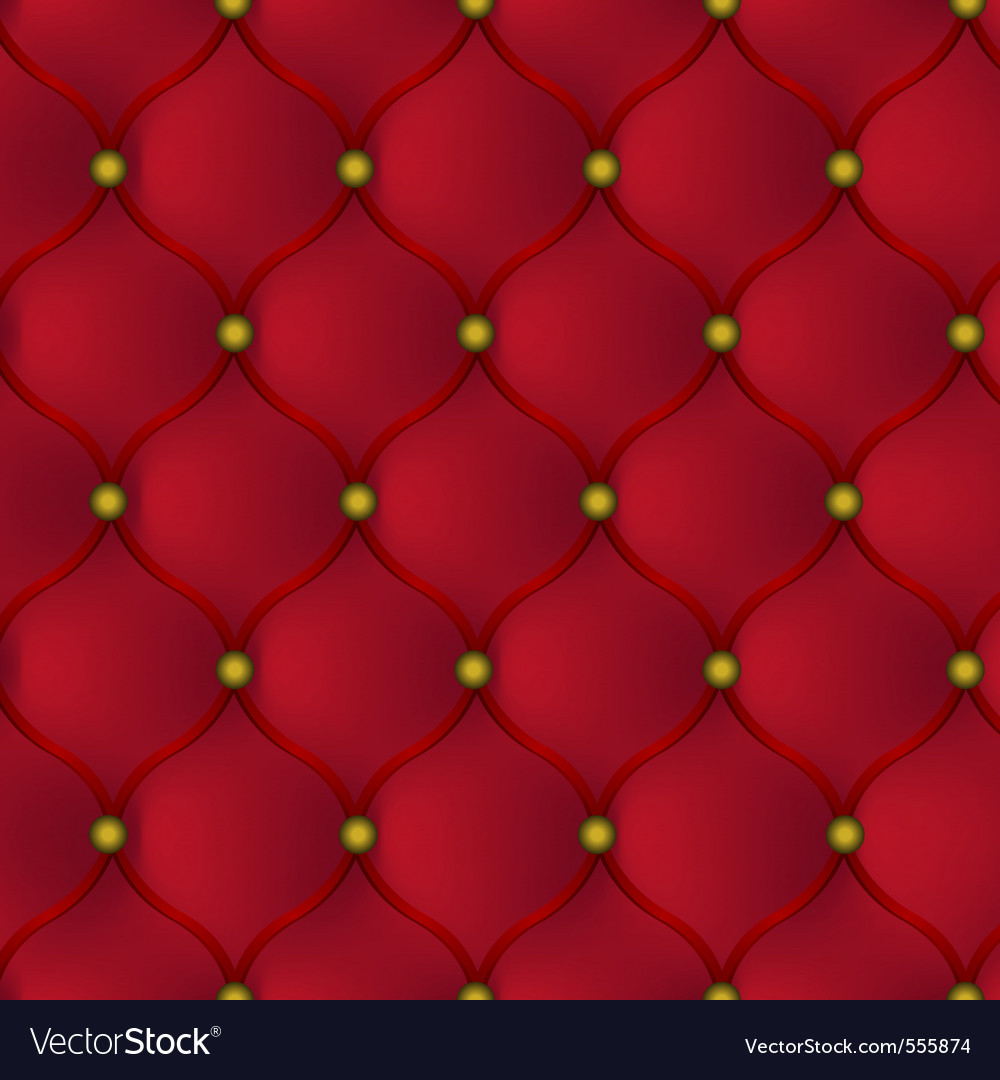 Red leather furniture vector | Price: 3 Credit (USD $3)