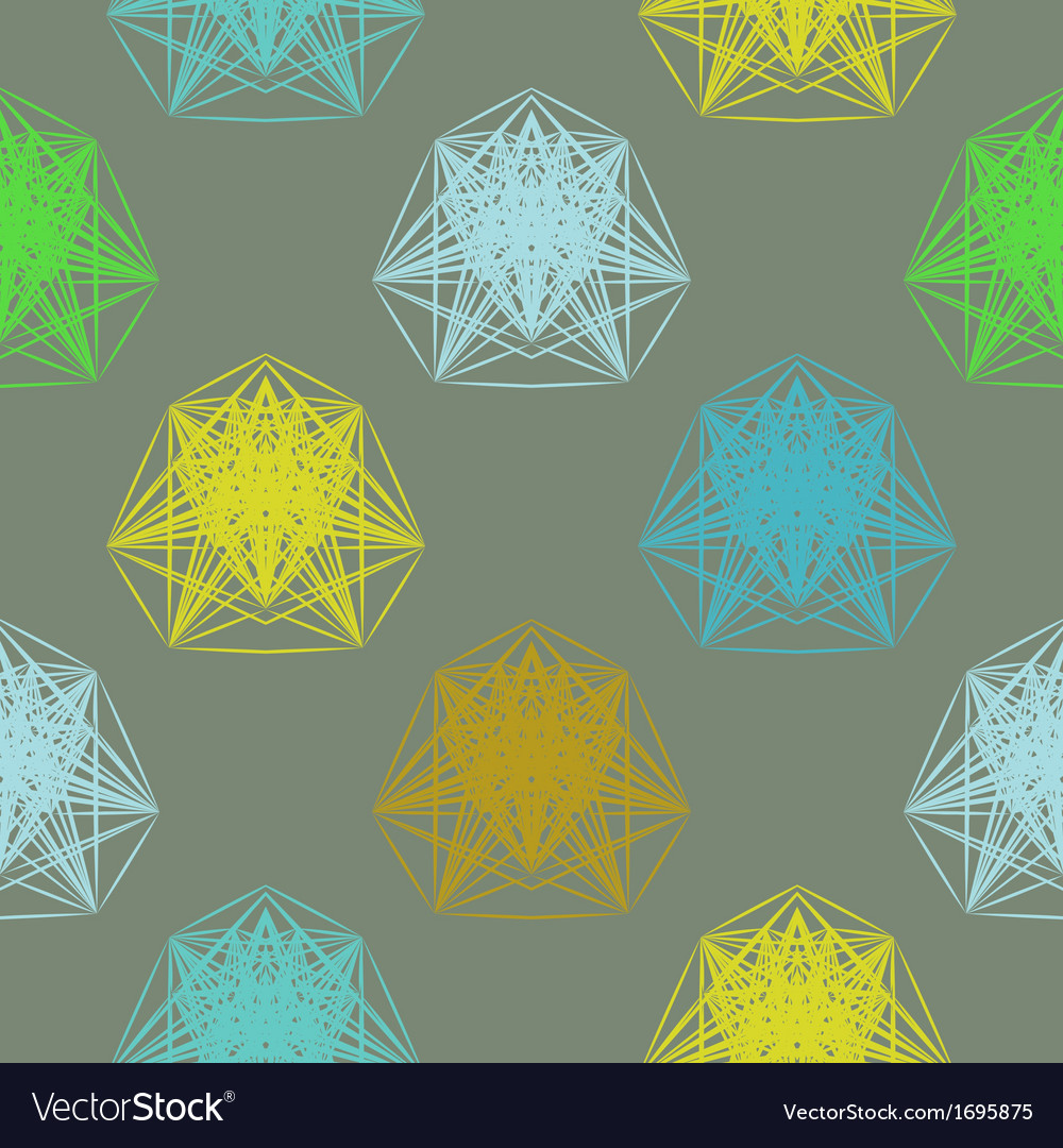 Geometric pattern in spring colors vector   Price: 1 Credit (USD $1)