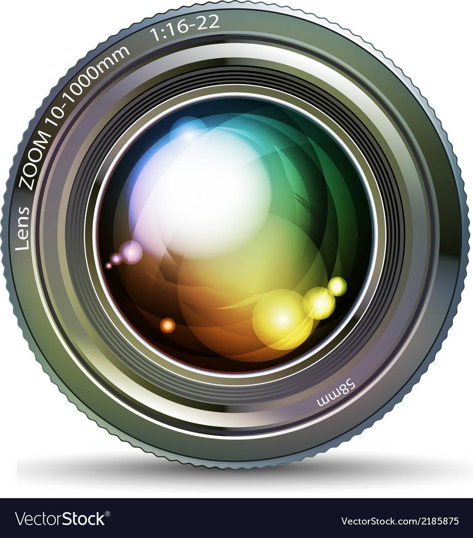 Photo lens vector | Price: 1 Credit (USD $1)