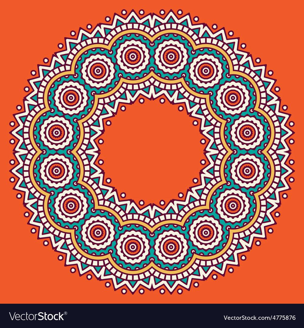 Circular ornament vector   Price: 1 Credit (USD $1)