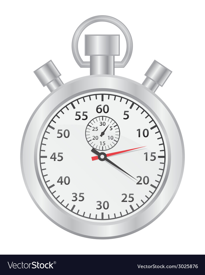 Stop watch vector | Price: 1 Credit (USD $1)