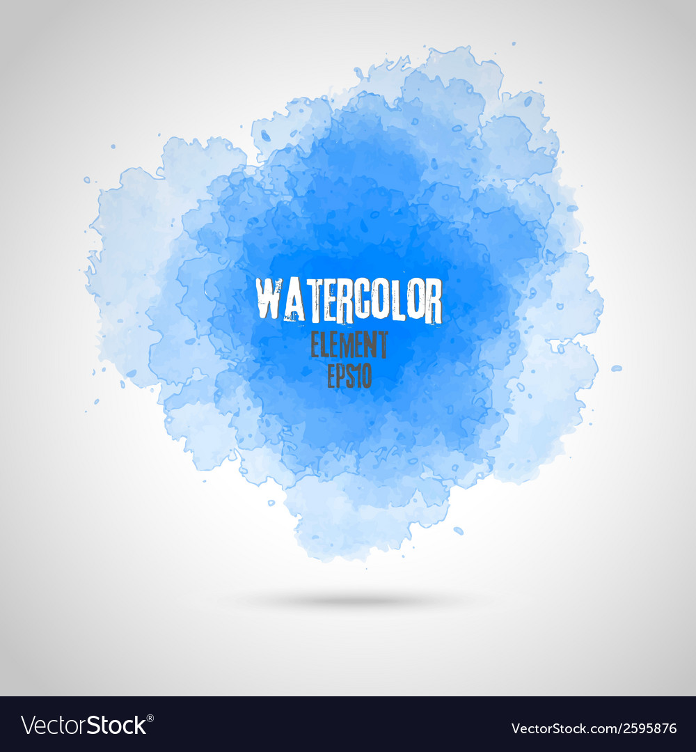 Watercolor splash background vector | Price: 1 Credit (USD $1)