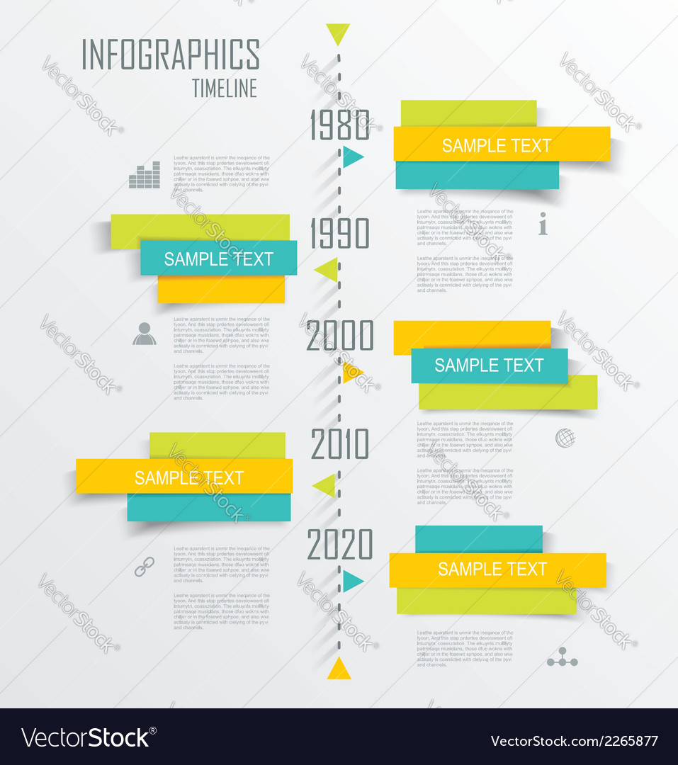 Diagram and time line design vector | Price: 1 Credit (USD $1)