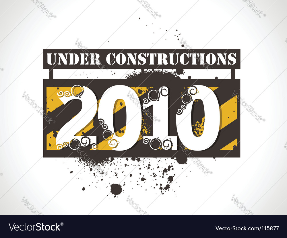 New year 2010 background vector | Price: 1 Credit (USD $1)