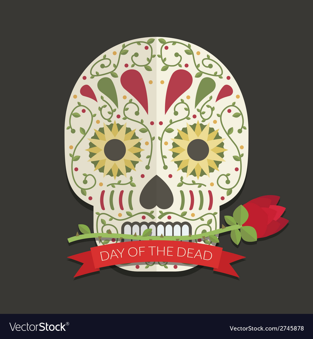 Day of the dead decoration vector | Price: 1 Credit (USD $1)