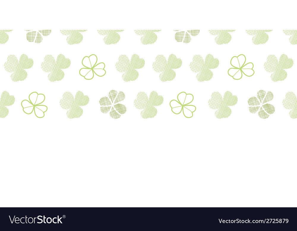 Clover geometric textile textured horizontal vector | Price: 1 Credit (USD $1)