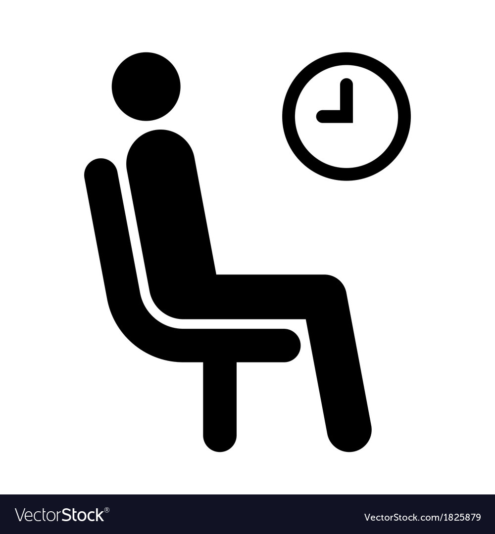 Waiting room symbol vector | Price: 1 Credit (USD $1)