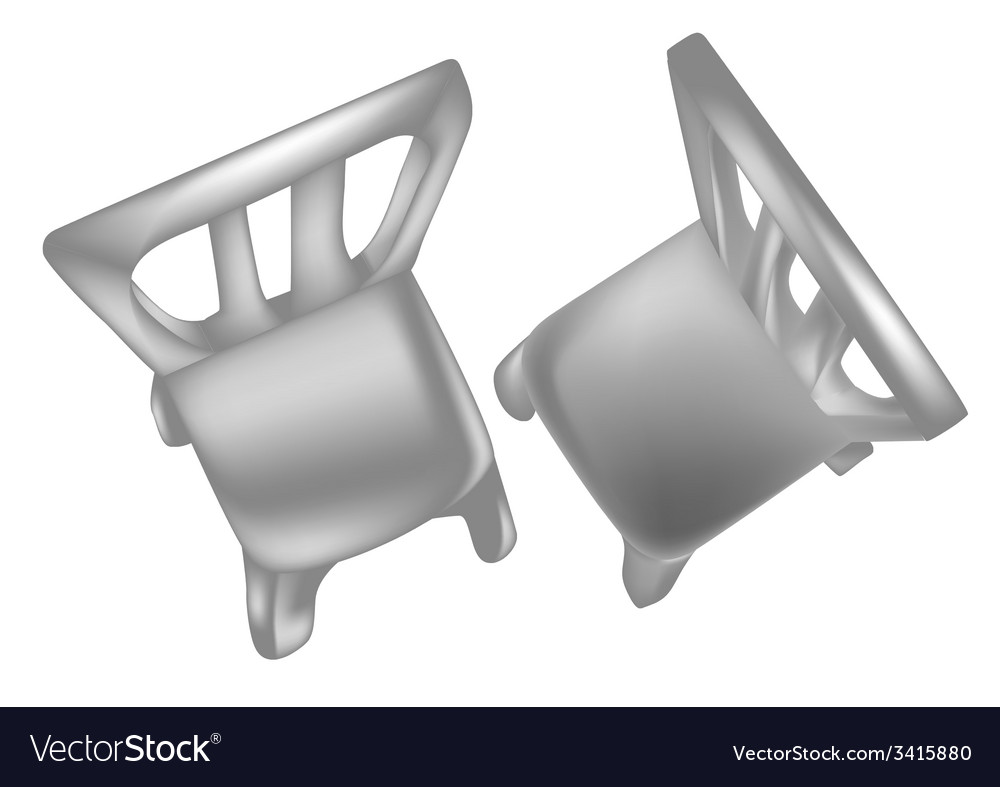 Chairs above vector | Price: 1 Credit (USD $1)