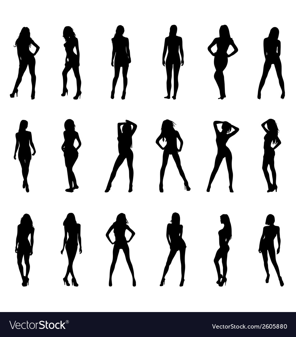 Sexy girls vector | Price: 1 Credit (USD $1)