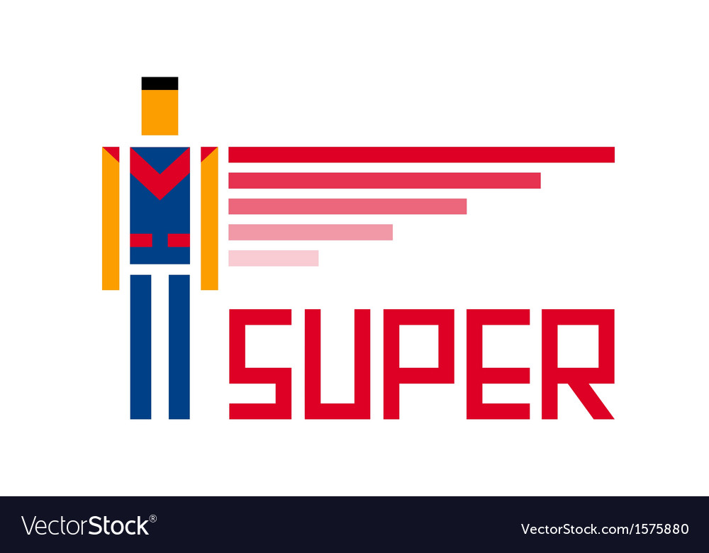 Super symbol vector | Price: 1 Credit (USD $1)