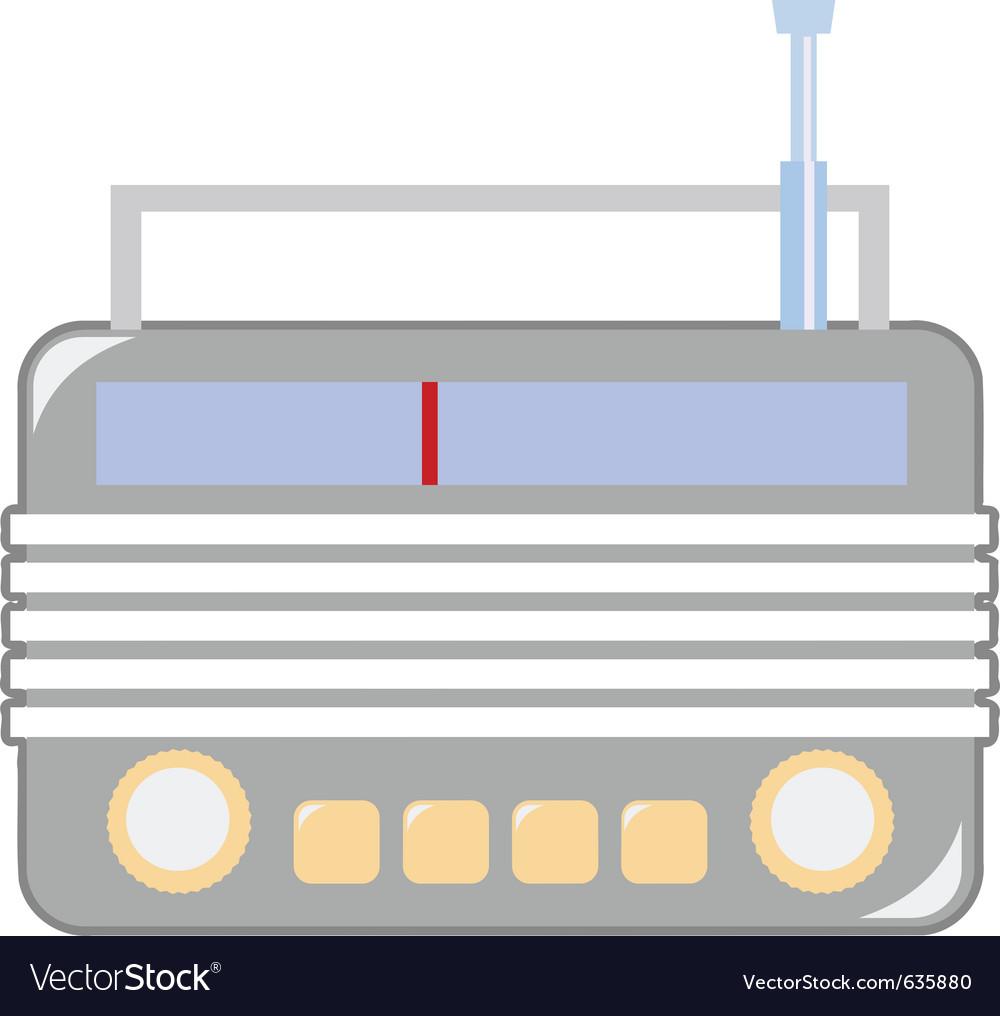 Vintage radio vector | Price: 1 Credit (USD $1)