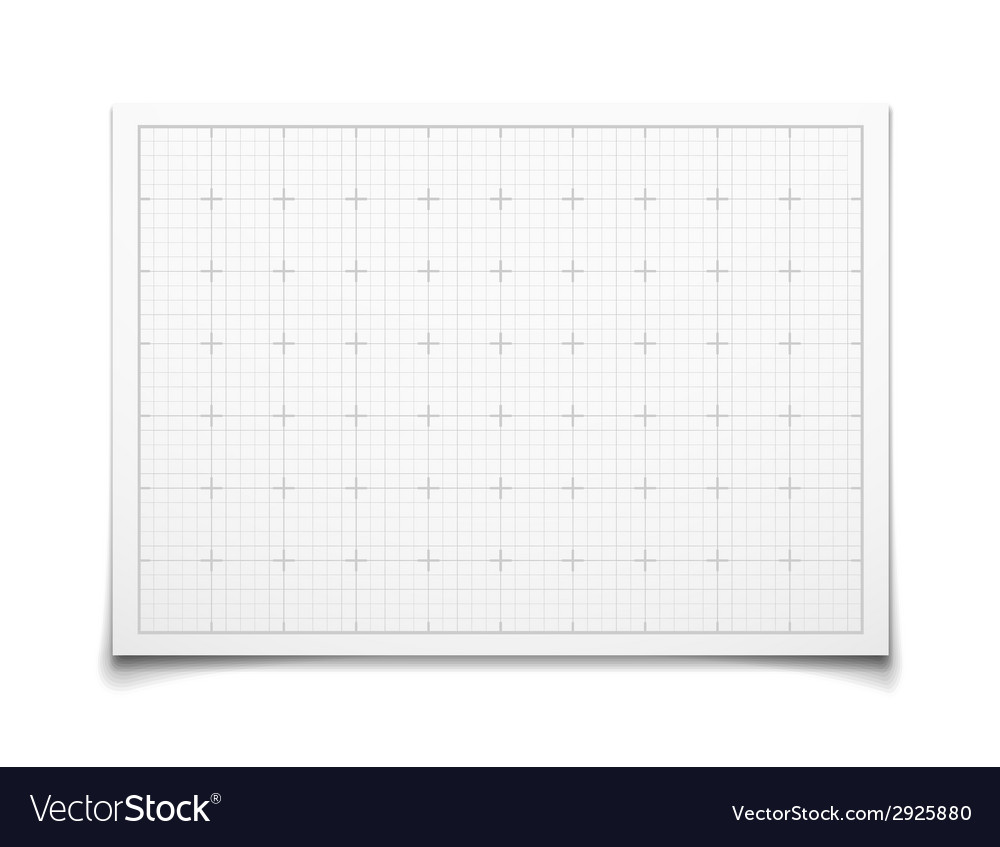 White isolated square grid with shadow vector | Price: 1 Credit (USD $1)