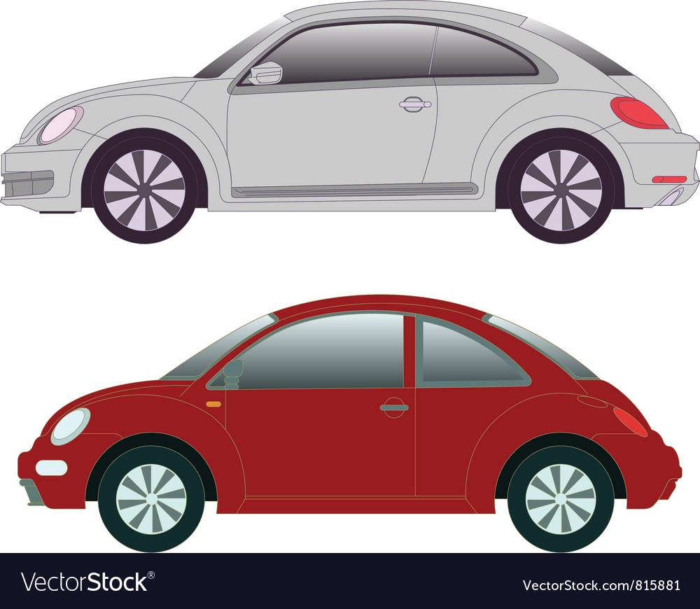 2012 new beetle vector | Price: 1 Credit (USD $1)