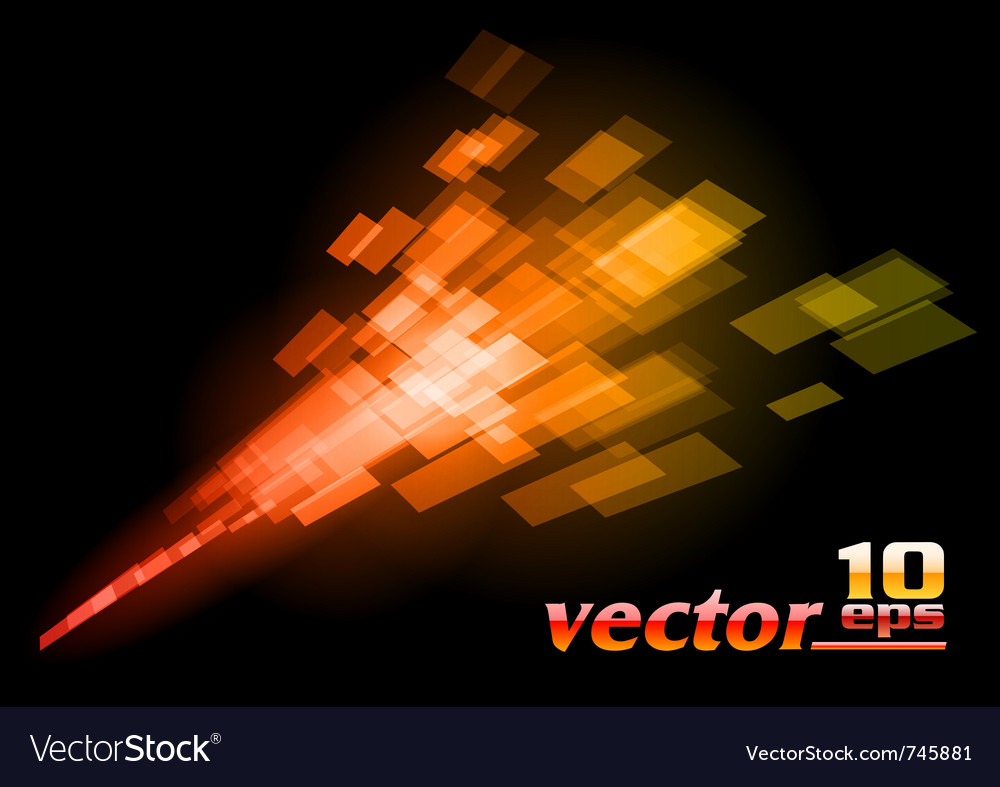 Abstract squares on the dark vector | Price: 1 Credit (USD $1)