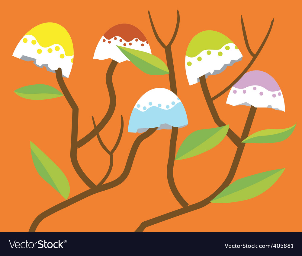 Nature trees vector | Price: 1 Credit (USD $1)